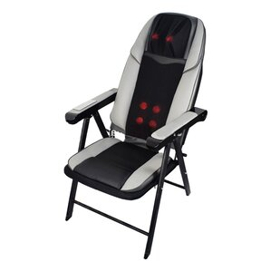 Shiatsu Folding Heated Massage Chair by Freeport Park