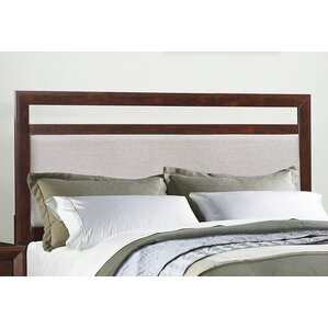 Zeta Upholstered Panel Headboard by Mercury Row