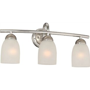 Compare 3-Light Vanity Light By Monument