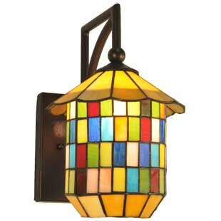 Find for 1-Light Outdoor Wall Lantern By Meyda Tiffany