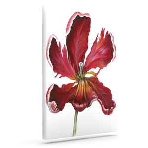 'Open Tulip' Print on Canvas by East Urban Home