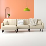 Lucky 110 Right Hand Facing Sleeper Sectional by Hashtag Home