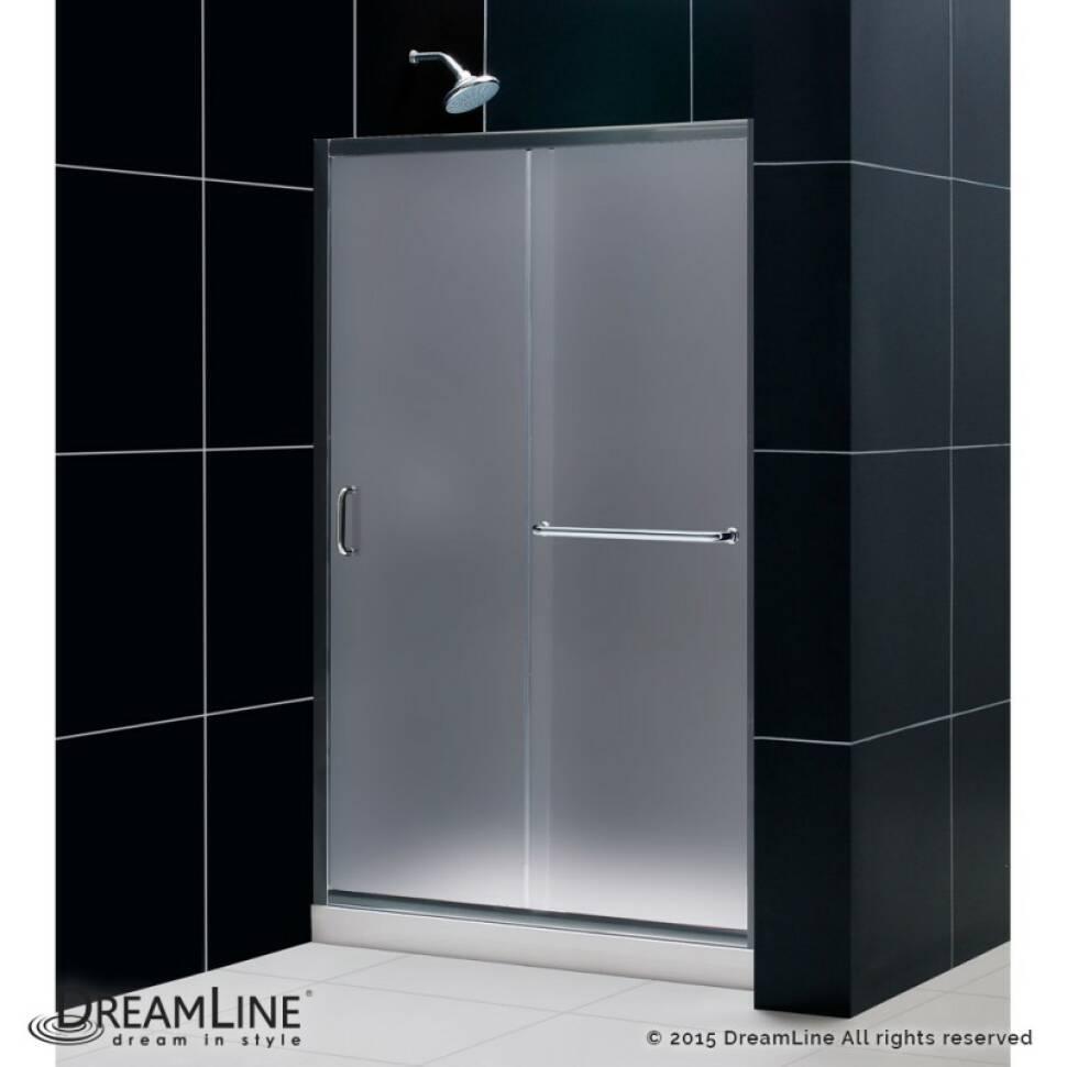 Dreamline Infinity Z 48 X 72 Single Sliding Frameless Shower Door