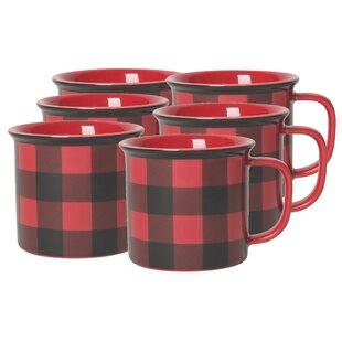 Dudgeon Buffalo Check Heritage Coffee Mug (Set Of 6)