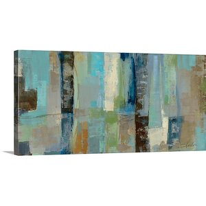 'Skylights' by Silvia Vassileva Painting Print on Canvas by Great Big Canvas