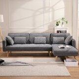 Mateus 70 Square Arm Sofa by Corrigan Studio®