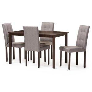 Modern Wood Dining Room Table modern dining room sets you'll love | wayfair