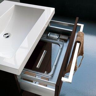 Buy luxury Archeda Stone Rectangular Drop-In Bathroom Sink with Overflow By Acquaviva