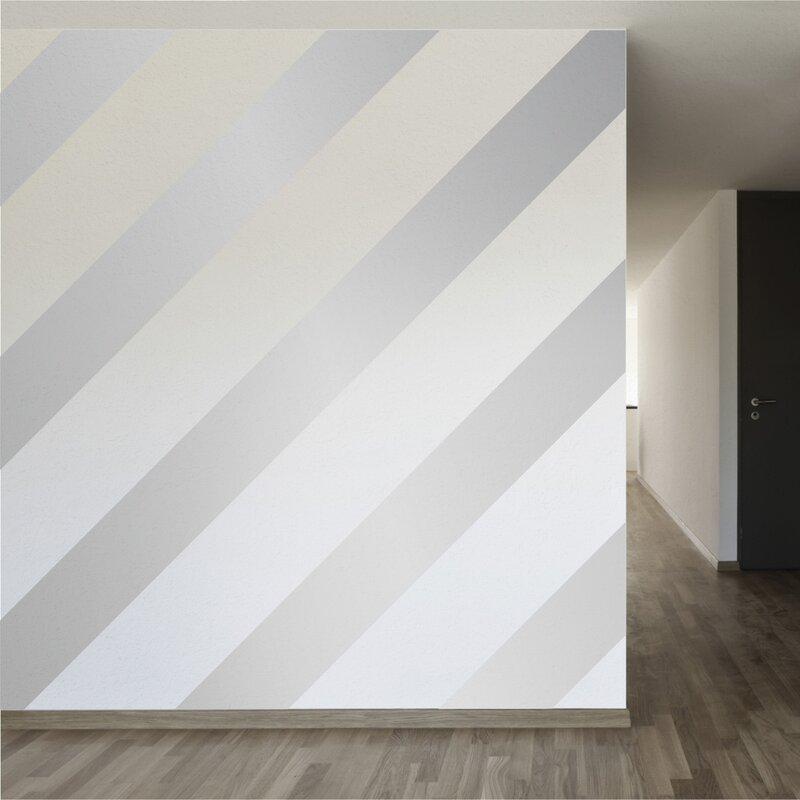 Walls Need Love Easy Stripe Wall Decal  Reviews Wayfair - Wall decals wood