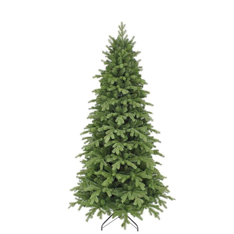 Next Slim Christmas Tree: The Seasonal Aisle Slim 7ft Green Fir Artificial Christmas