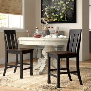 Find a Landrum Solid Wood Dining Chair by Simmons Casegoods (Set of 2) by World Menagerie