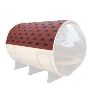 Sauna Roof Barrel Shingle Cover by ALEKO