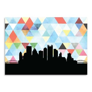 Pittsburgh Triangle Graphic Art by East Urban Home