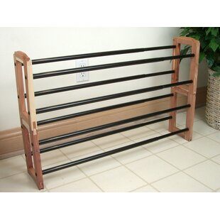 Read Reviews Expandable Stacking 10 Pair Shoe Rack By Proman Products