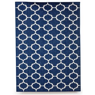 Winchester Royal Blue Indoor Outdoor Area Rug