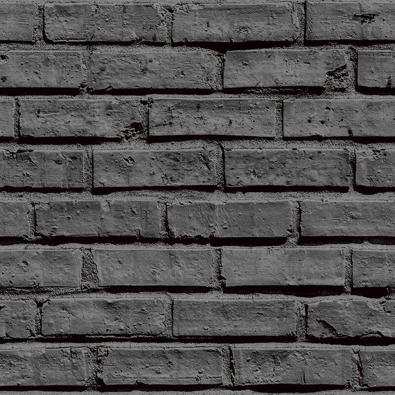 Arthouse 31 5 39 x 21 brick wallpaper roll reviews wayfair for Brick wallpaper sale