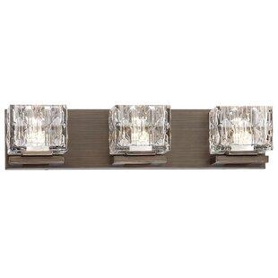 Best Price Mcelwain 3-Light LED Vanity Light By House of Hampton