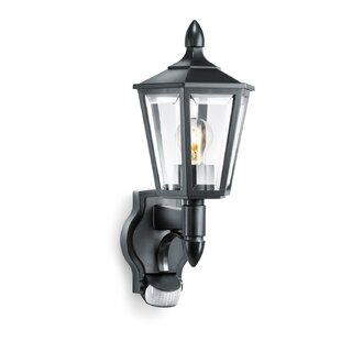 Pir security lights youll love wayfair 1 light outdoor wall lantern with motion sensor aloadofball Choice Image