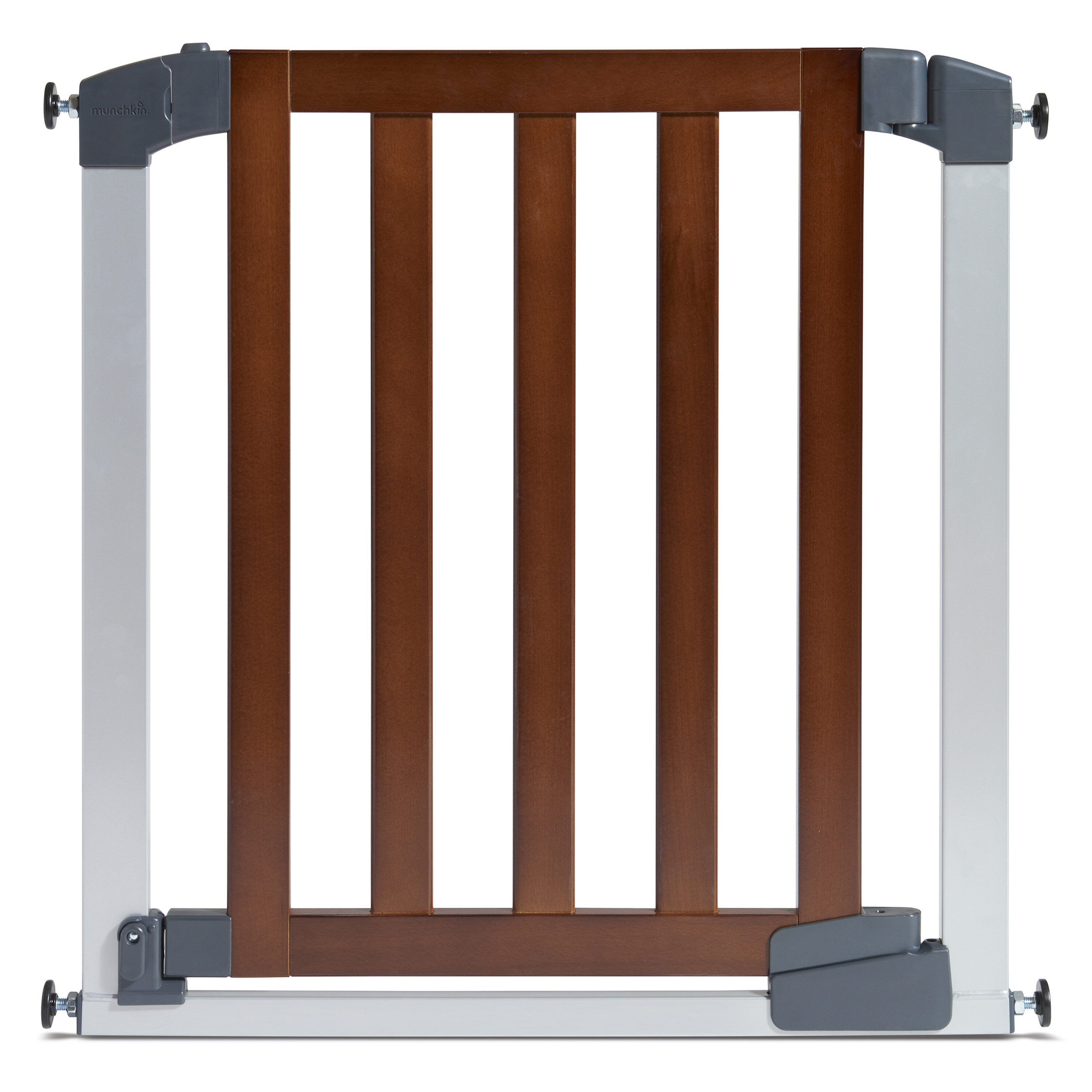 Baby Safety Gate Pet Fence Walk Through Bay Infant Security Door Or Extension