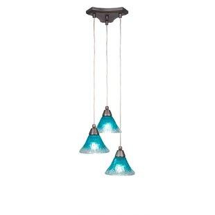 Teal pendant light wayfair save to idea board aloadofball Choice Image