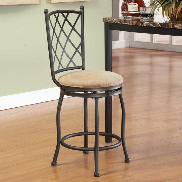 Wondrous Ludowici 24 Swivel Counter Stool Machost Co Dining Chair Design Ideas Machostcouk