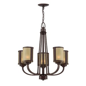 Bomen 5-Light Shaded Chandelier