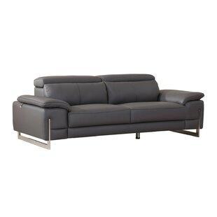 Amethy Leather Sofa