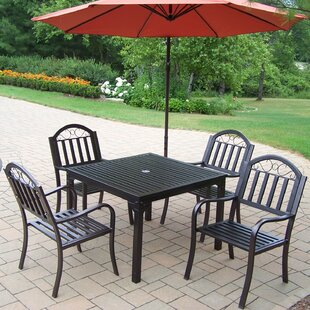 Lisabeth Traditional 5 Piece Dining Set By Red Barrel Studio
