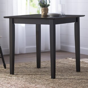 Black Square Kitchen Dining Tables Youll Love Wayfair - Black square kitchen table with chairs