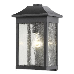 Astille 1-Light Outdoor Flush Mount By Loon Peak Outdoor Lighting