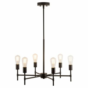 Sherri 6-Light LED Candle-Style Chandelier