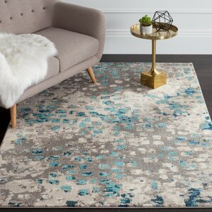 crosier grey u0026 silver area rug
