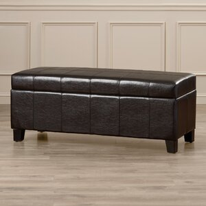 Kickemuit Upholstered Storage Bench