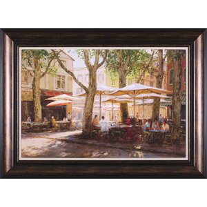 Summer - Provence by George Bates Framed Painting Print by Art Effects