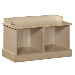 Compare Springboro Hall Wood Storage Bench By August Grove