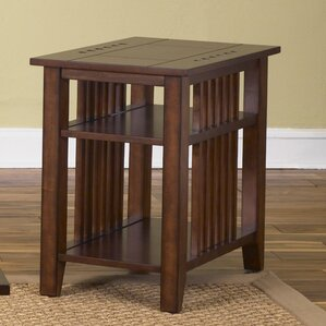 Menlo Park Chairside Table by Loon Peak