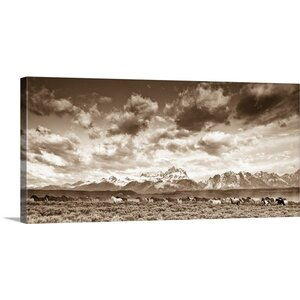 'Wyoming Skies' by Gary Crandall Photographic Print on Wrapped Canvas by Great Big Canvas