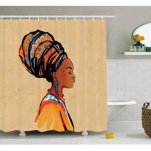 Find a Avia Ethnic Exotic Feather Shower Curtain ByBloomsbury Market