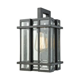 Coupon Cipolla 1-Light Outdoor Sconce By Brayden Studio