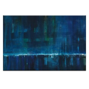 Waterfall 1 by Patricia Baliviera Painting Print on Wrapped Canvas by Artist Lane