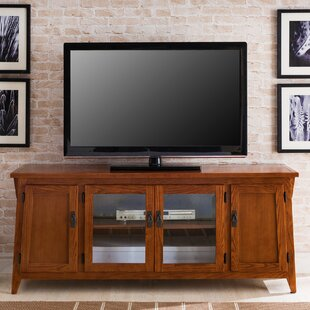 Havens Canted Side TV Stand for TVs up to 60