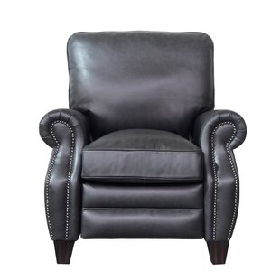 Ponteland Leather Manual Recliner by DarHome Co