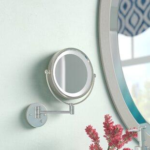 Compare & Buy Sauceda Round LED Wall Mirror ByLatitude Run