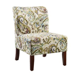 Willimantic Floral Curved Back Slipper Chair Great Ideas
