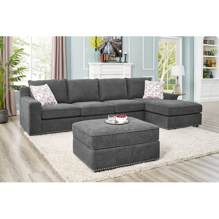 Prime Makah 4 Seater Large Right Hand Facing Sectional Sofa With Ottoman Ibusinesslaw Wood Chair Design Ideas Ibusinesslaworg