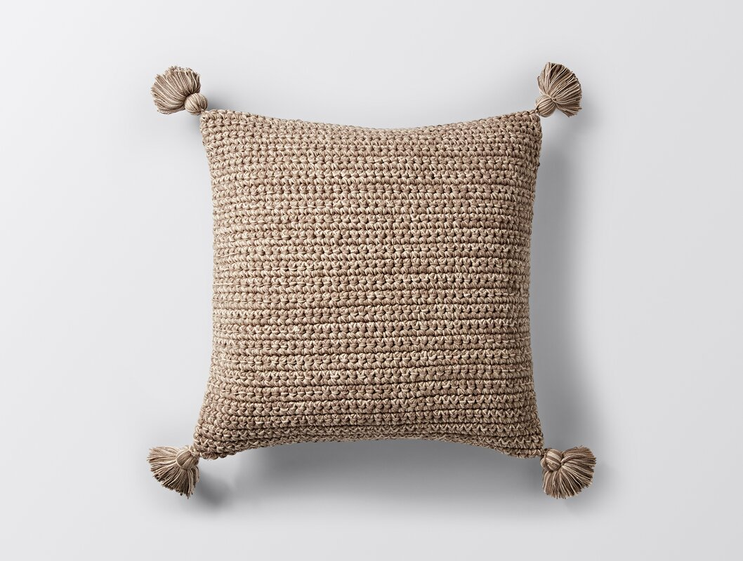 Decorative Pillows With Tassels : Coyuchi Woven Tassel Decorative Pillow Cover & Reviews Wayfair.ca