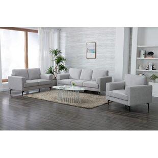 Swindell 3 Piece Living Room Set by George Oliver