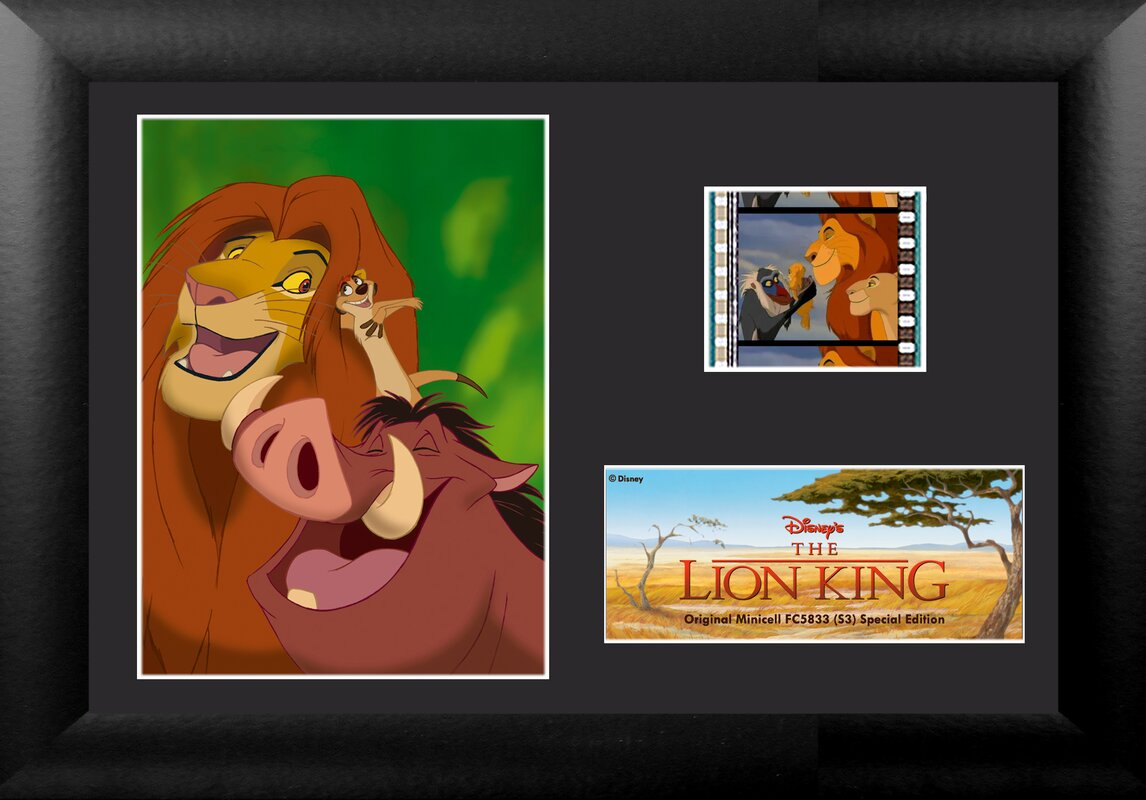 Trend Setters Disney Lion King (The Gang) Framed FilmCells ...