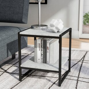 Andresen Modern 2-Tier End Table Wrought Studio