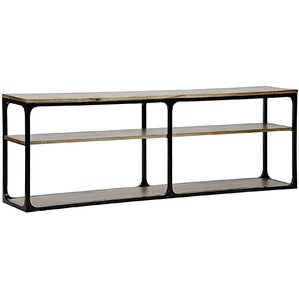 Large Novie Metal Console Table by Noir